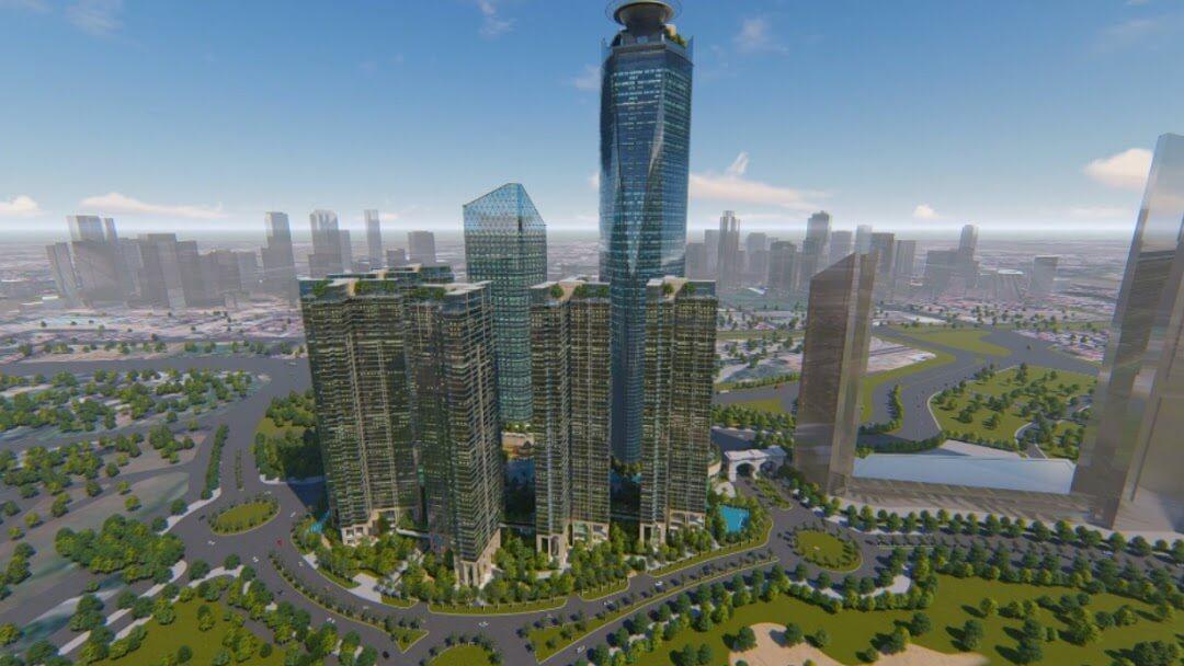 Sunshine Empire- quần thể kiến trúc bậc nhất Việt Nam