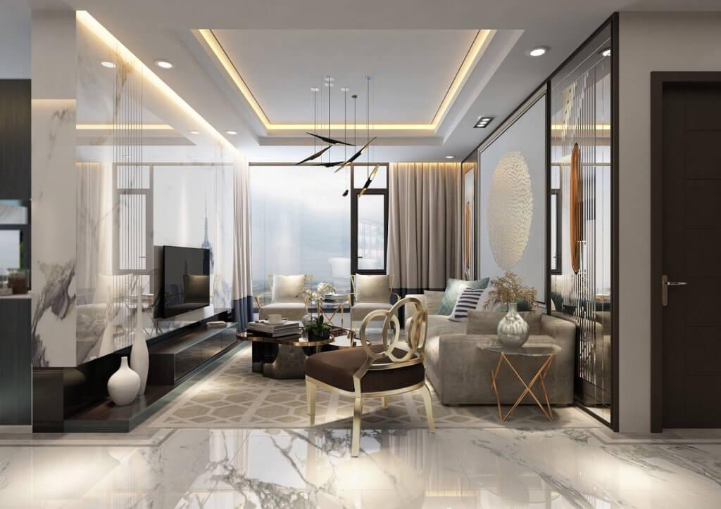 Thiết kế căn hộ đẳng cấp