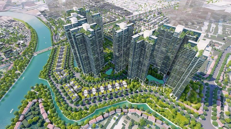 Vị trí dự án Sunshine City Sài Gòn