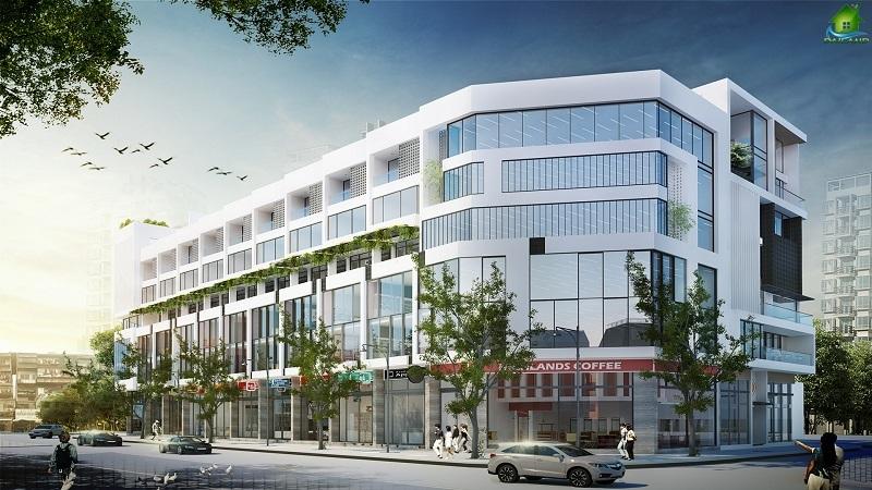Dự án Langs Village được bố trí 11 lô nhà phố shophouse
